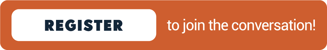 Button that says Register to Join the Conversation