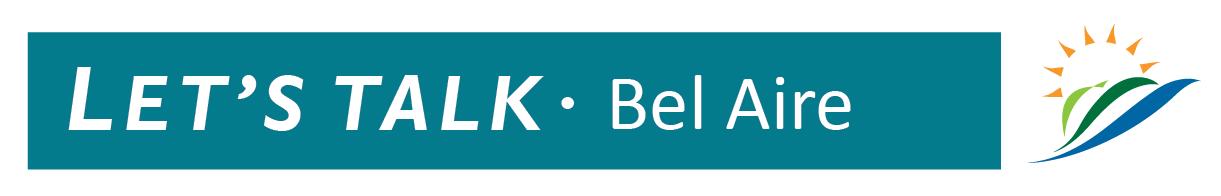 Let's Talk Bel Aire Logo