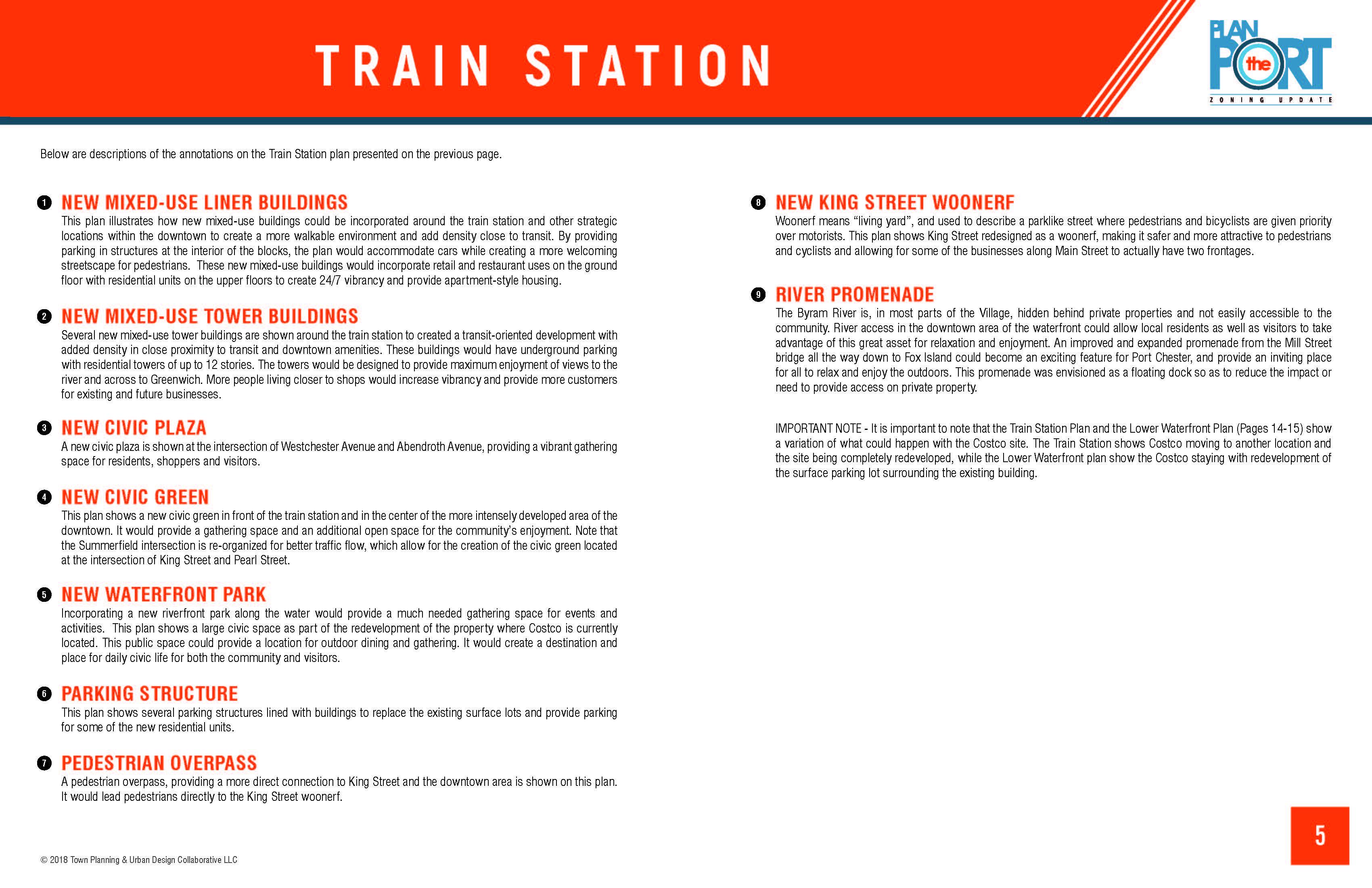 Train Station Area | Vision Plans | Plan the Port