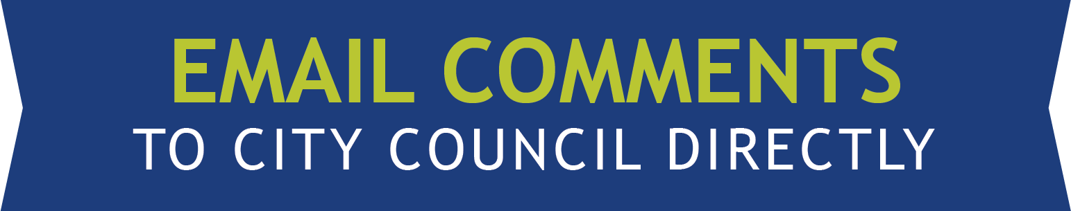 Email comments to City Council Directly