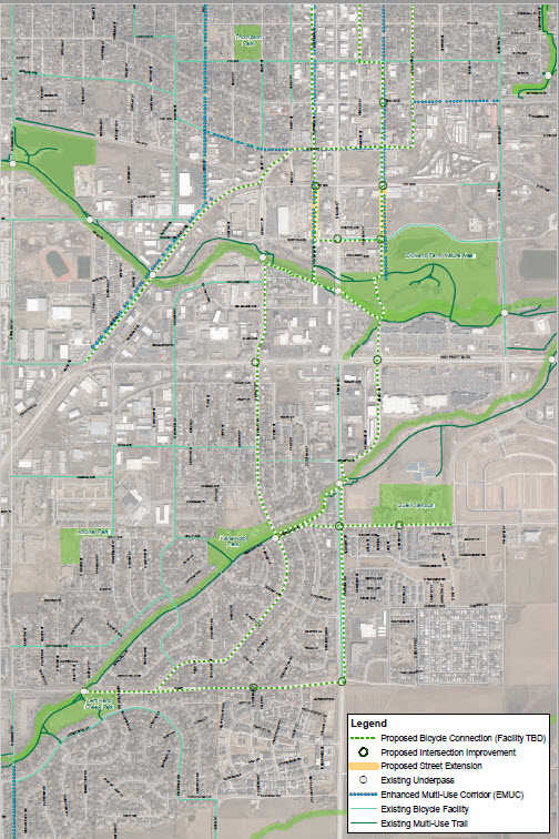 Bike Connections Map