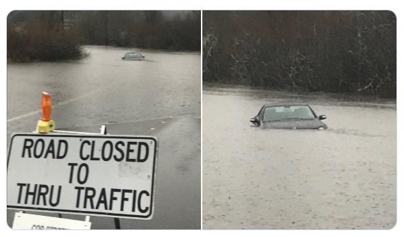 Bellevue road flood 20dec2019