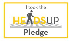 I took the heads up pledge
