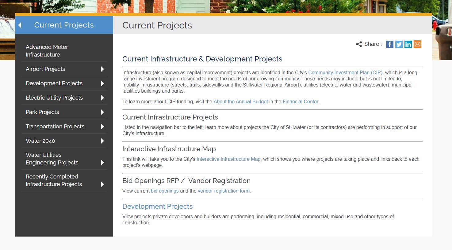 Current project screenshot