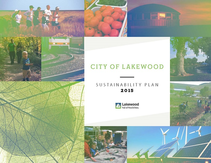 Sustainability plan cover