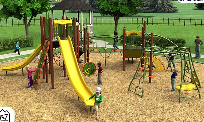 Ute trail playground option 2