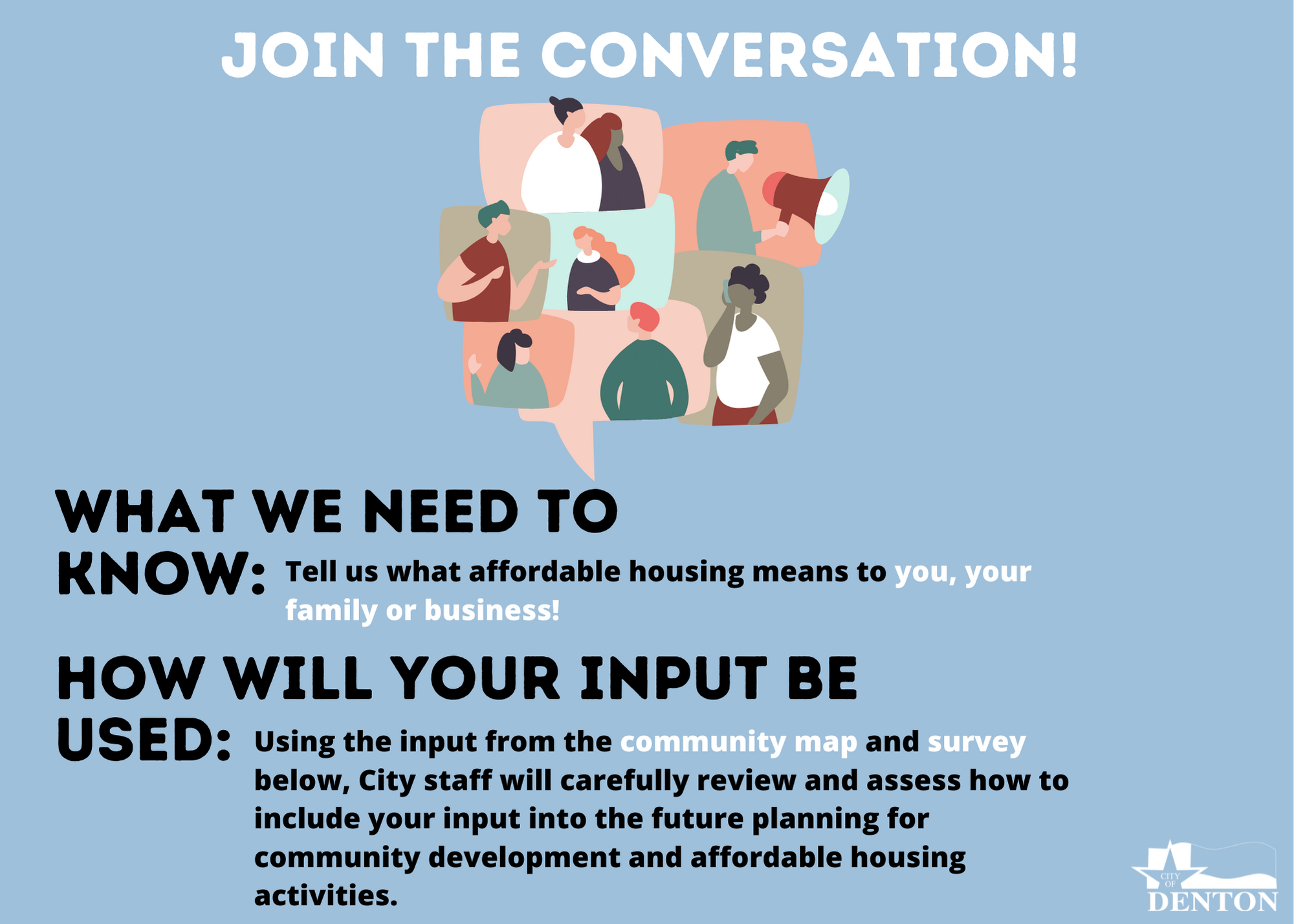 Affordable Housing Input Needed