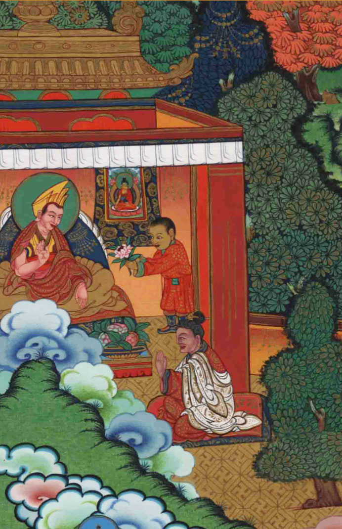 Gendun Gyamtso visits the monastery of his predecessors and pays homage to its great teachers.