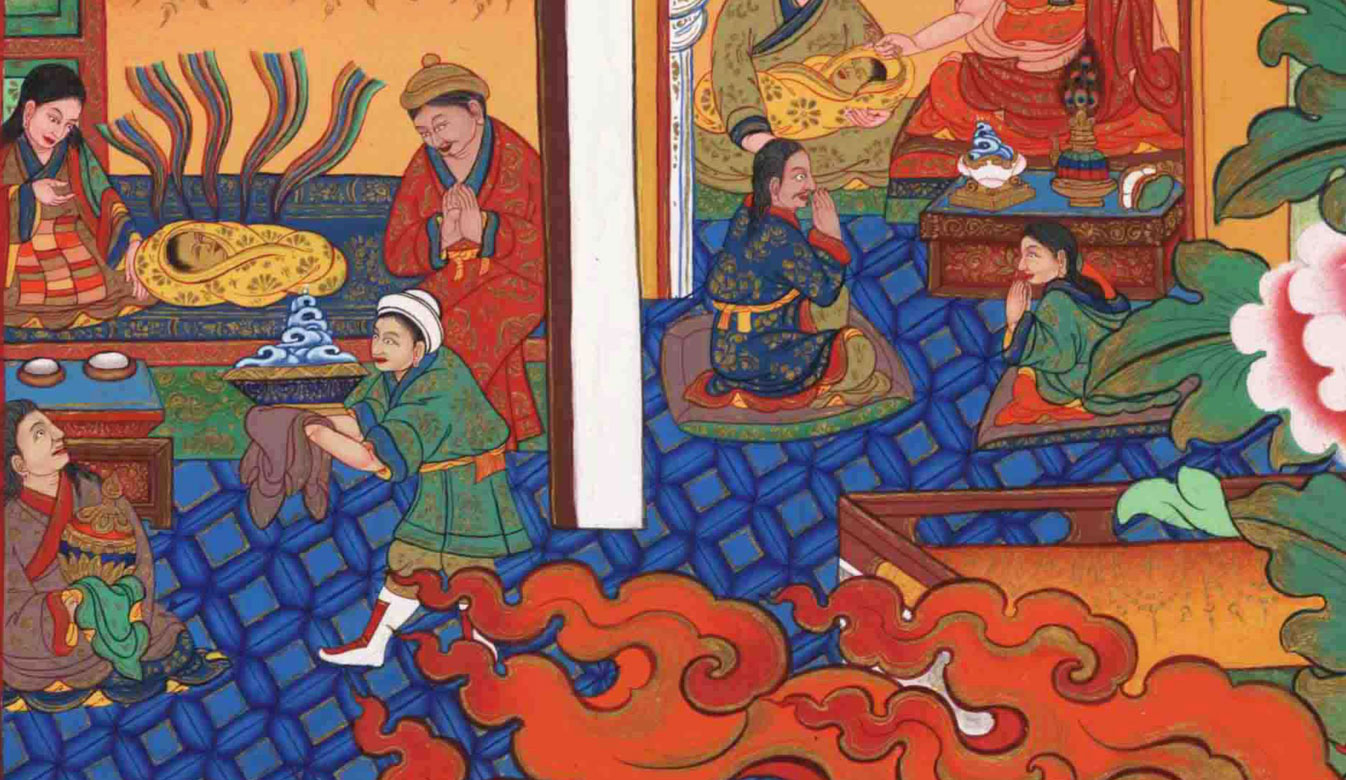 Birth of Ranu Shechok, near Lhasa