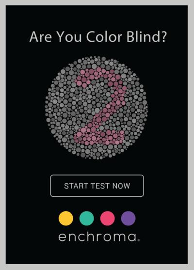 EnChroma Color Blind Test