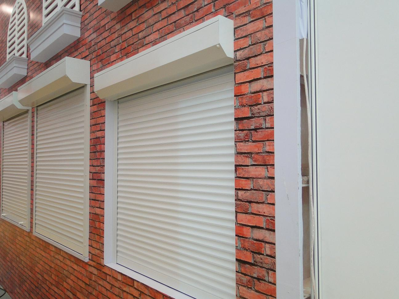 aluminum louver shutter window