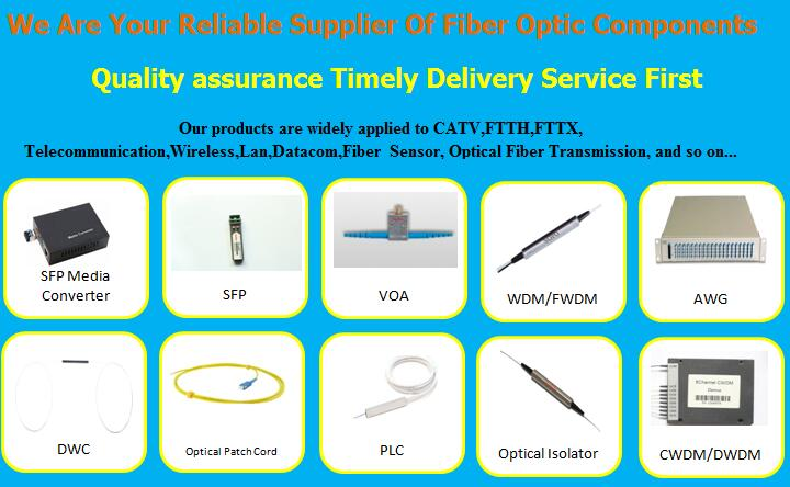Sell optical fiber media converter/optical circulator/optical switch/optical attenuator/patch cord/passive components