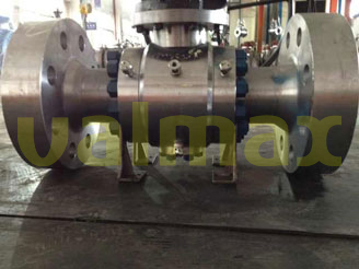 Forging Ball Valve, 2500 LB, 16 Inch, ASME B16.5, PEEK - China Valmax Valve Co., Ltd.