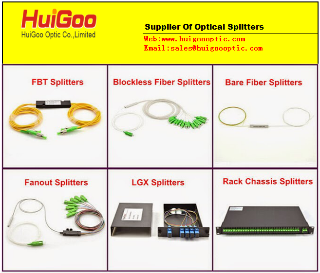 Sell optical couplers splitters plc splitter dual window couplers DWC FBT COUPLERS
