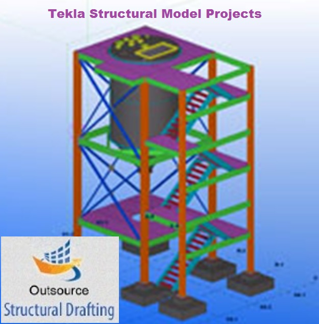 Structural Tekla Steel Detailing Services - Outsource Structural Drafting