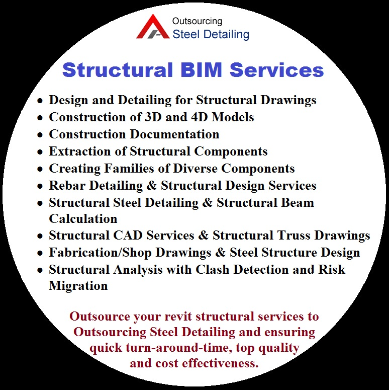 Structural Steel BIM Services - Outsourcing Steel Detailing