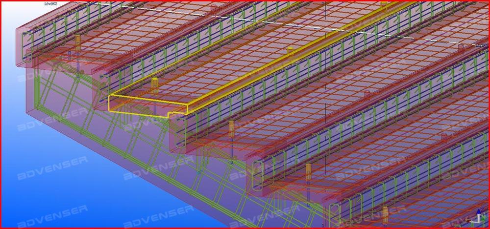 Rebar detailing - Steel detailing