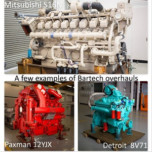 Heavy Diesel Engine Servicing, Overhaul, Repair, Supply and installation