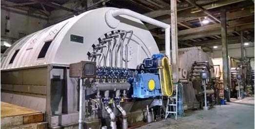 Vacuum Drum Pulp Washer