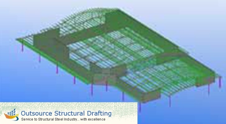 Structural Steel Fabrication Services - Outsource Structural Drafting
