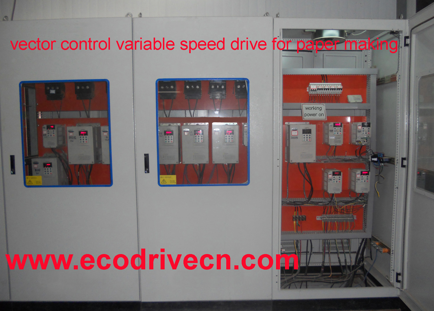 special AC drive for injection moulding machine