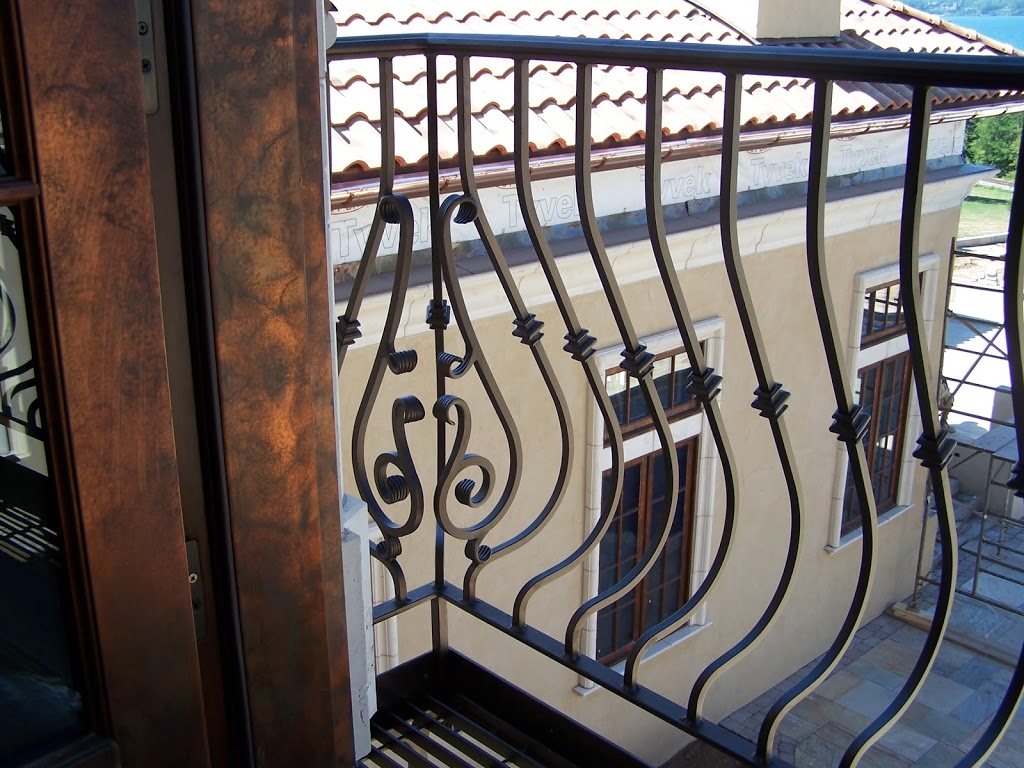 Iron Railings - Keuka Studios