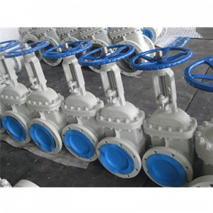 Cast Steel Gate Valve, OS&Y, Rising Stem