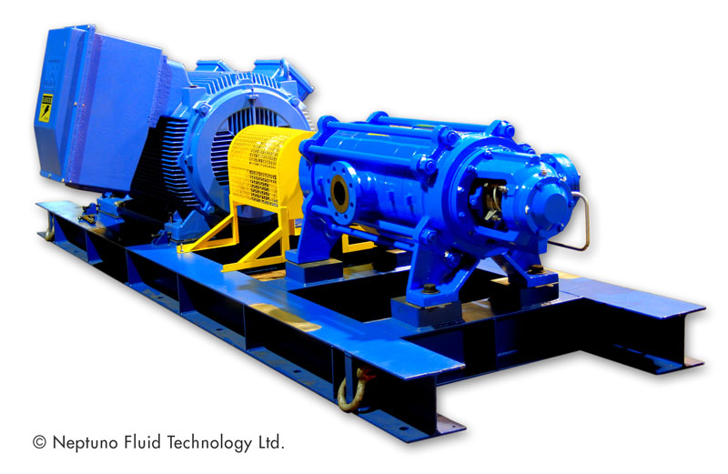 Horizontal Multistage Pumps - Neptuno Pumps®