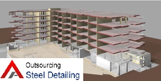 Revit Structure Steel Fabrication Product - Outsourcing Steel Detailing