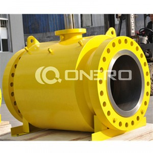 BS Forged Steel Trunnion Mounted Ball Valve