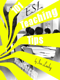 cover 101 ESL teaching tips