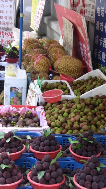 Exotic fruits in China