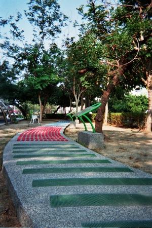 Taiwan foot massage path