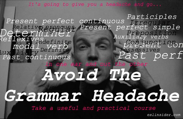 grammar headache