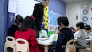 korean kids in classroom