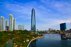 Tallest building in South Korea