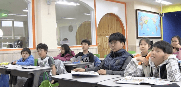 korean elementary kids