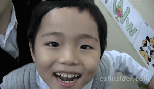 korean kindergartener