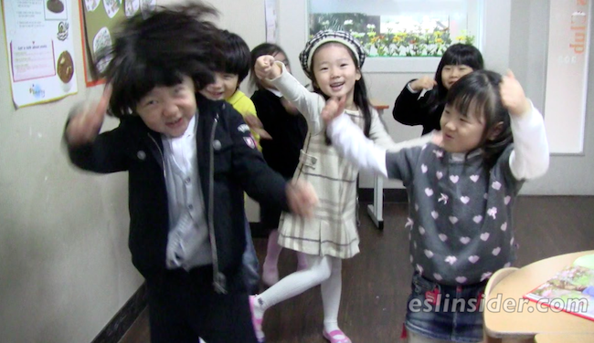 kindergarten kids korea