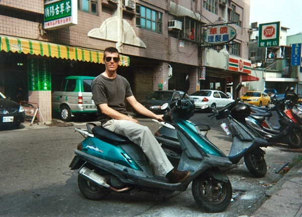 My scooter in Taiwan