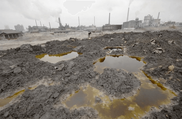 China soil pollution