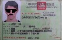 Taiwan Alien Resident Certificate
