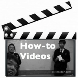 How-to Videos for TEFL