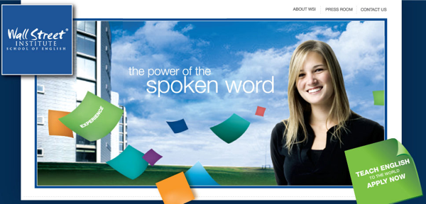 Wall Street English China advertisement