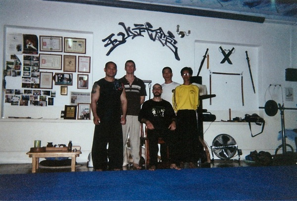 Wing Chun students