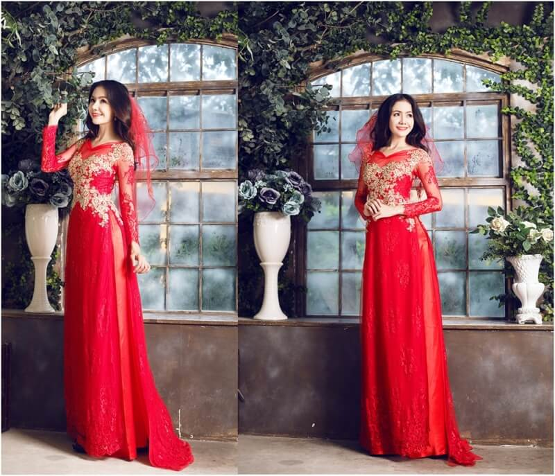 Traditional Ao Dai New Trend For Vietnam Wedding Dress 187 Exotic Voyages