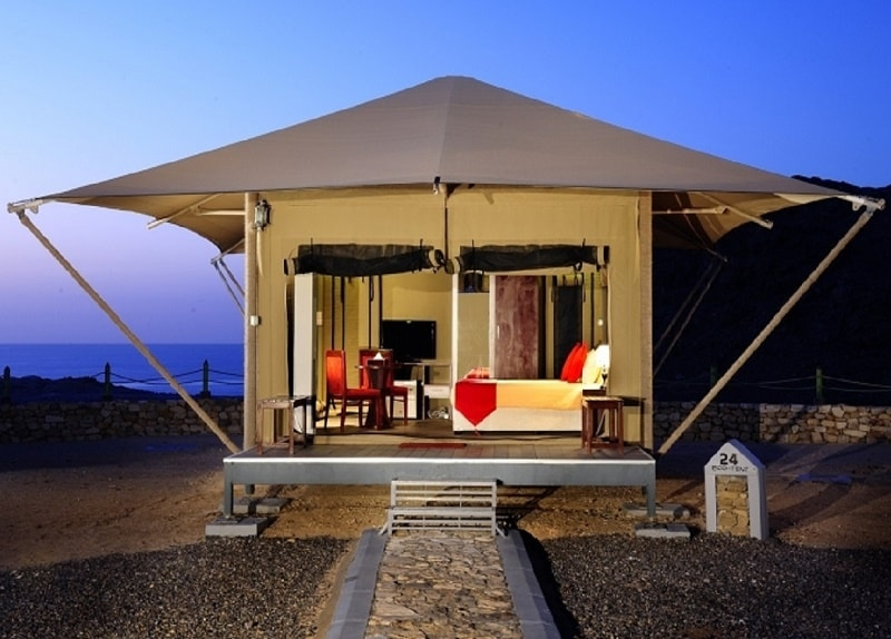 Luxury Eco Tents - Ras Al Jinz Turtle Reserve