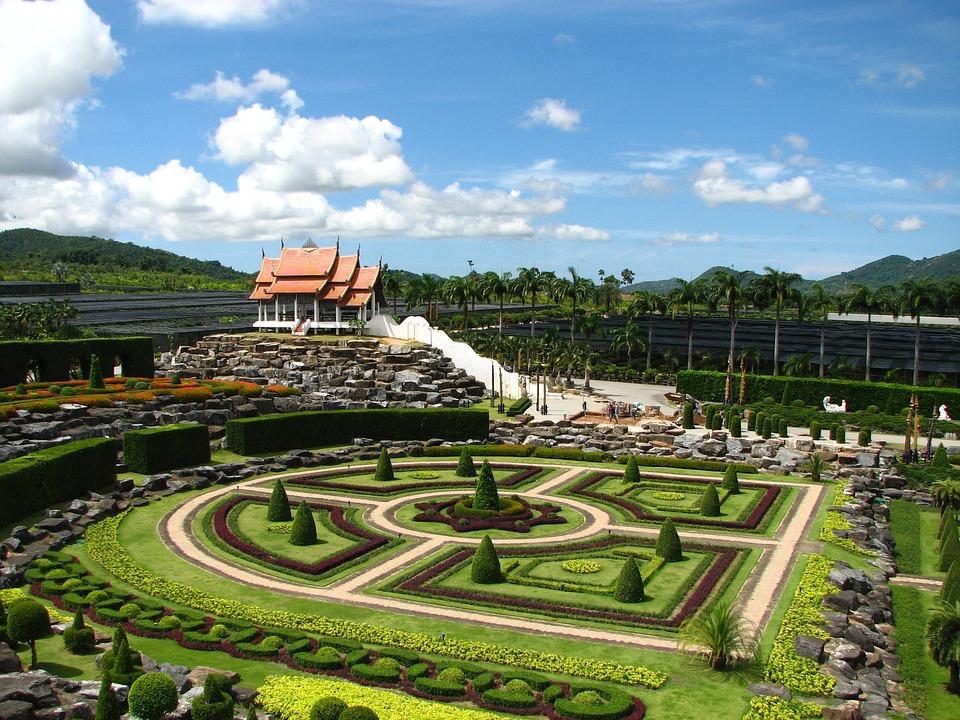 Tropical Botanical Garden Thailand Nong Nooch