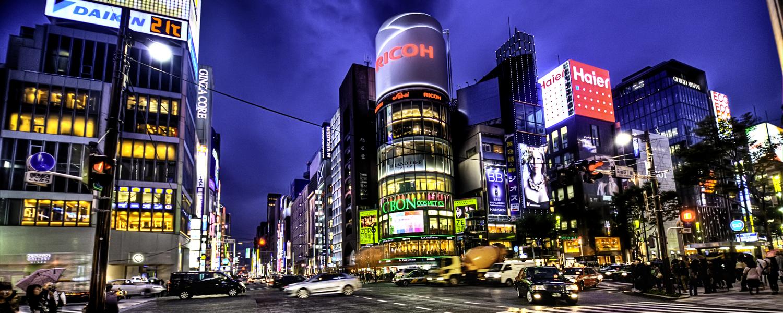 Ginza-at-Night-Tokyo
