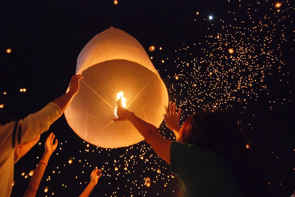 Yi Peng Lantern Festival Thailand- Exotic Voyages